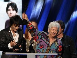 Austin Photo Set: News_sig_Ian McLagan _rock and roll hall of fame_april 2012_ceremony