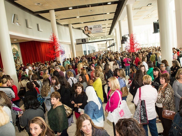 46 Nutcracker Market November 2013 crowd, venue
