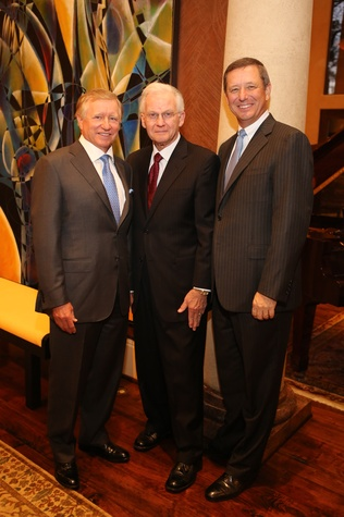 Men of Distinction dinner, Feb. 2016,  Jesse Tutor, Harry Mach, David Wuthrich