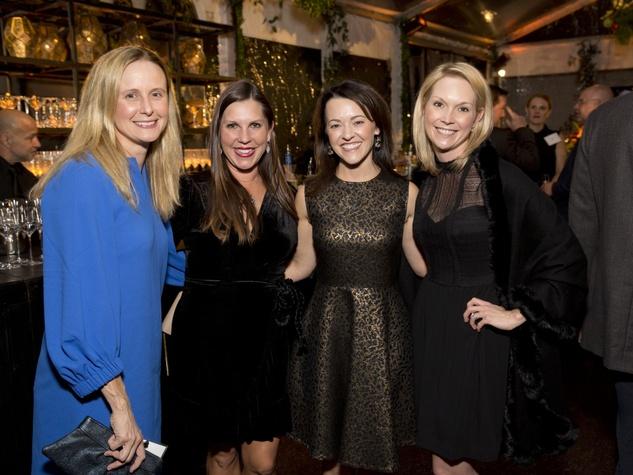Houston, TCH Ambassadors holiday party, December 2017, Jenna Atwood, Jennifer Roberts, Chelsea Pacey, Staci Donovan