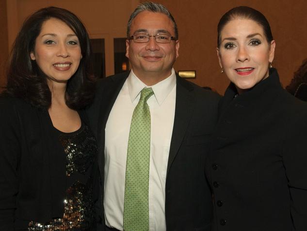 Enetra Ramirez, Joal Ramirez, Patti Flowers, Voice of Hope Dinner