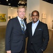7 Jonathan Glus, left, and Alton LaDay at the Texas Contemporary Art Fair VIP opening party October 2013