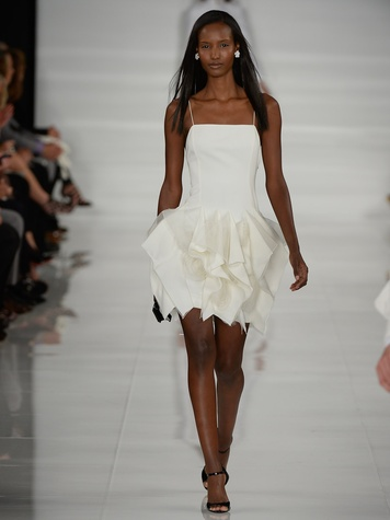 Fashion Week spring summer 2014 Ralph Lauren Collection Spring 2014 Look 46