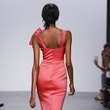 Badgley Mischka spring 2018 look 30 back view
