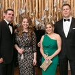 18 Phillip Tomasen and Sarah Harrison, from left, and Ashley and Adam Konikowski at the Junior League of Houston Gala February 2015