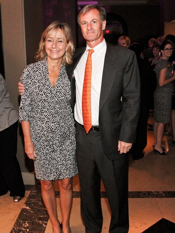 Fund for Teachers dinner, October 2012, Connie Plank, Roger Plank