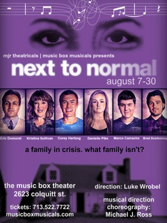 MJR Theatricals/Music Box Musicals presents Next to Normal