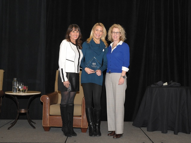 Austin Gives' 3rd GeneroCity Awards Olga Campos-Benz Katherine Stolp Emily Lively Austin Gives Bold Giver Winners 2015 595