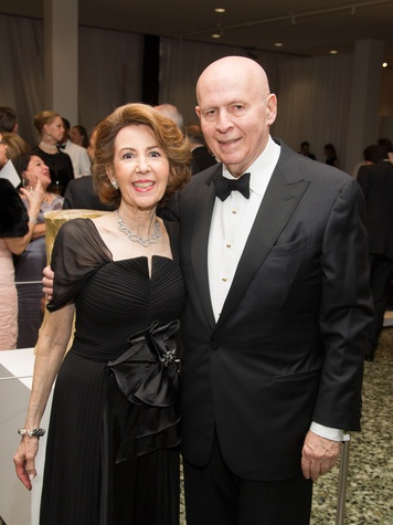 Gail and Louis Adler at the MFAH Latin American Experience November 2013