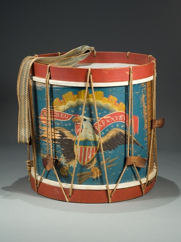 News_HMNS_Civil War_Maine Drum