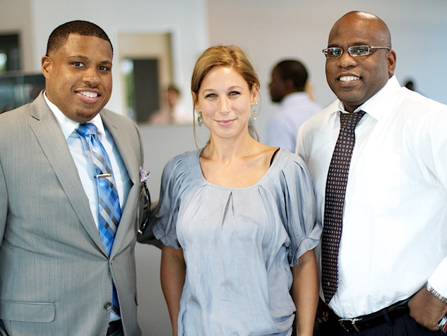 News_Houston Young Professionals_Culture Collision_May 2012_Reginald Jean Jacques_Erin Bergeron_Marcus Stewart