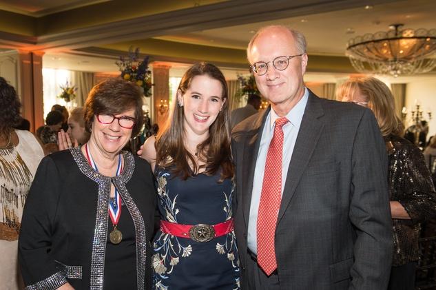 Be An Angel gala 5/16.  Dr. Joan Shook, Hannah Starke, Jeff Starke