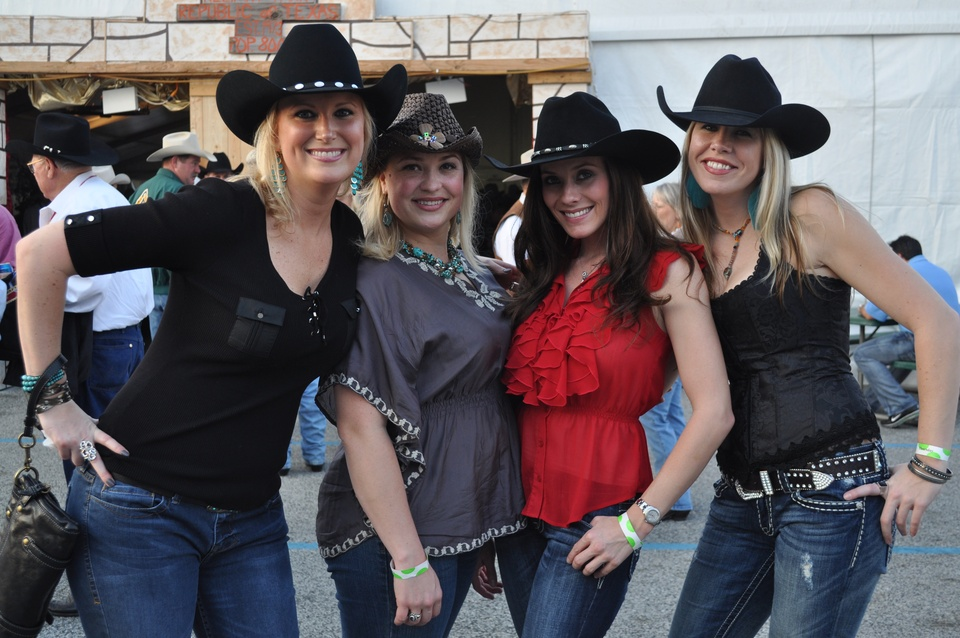 Smokin Hot Cowgirls Spice Up Houston Rodeo S World S