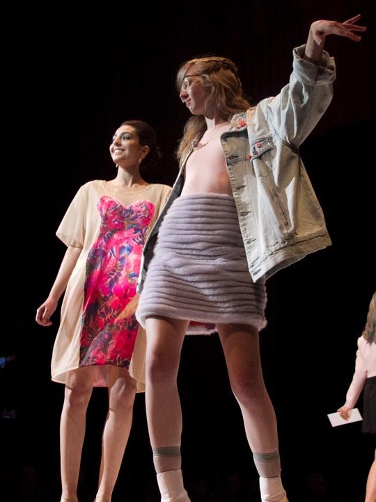 Spectrum UT Senior Fashion Show 2014 Tilde Snyder