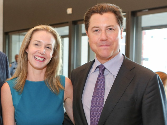 Kathryn and Ian Fay at the SPA luncheon October 2013