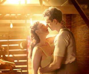 Carmen Cusack and Paul Alexander Nolan from Broadway version of Bright Star
