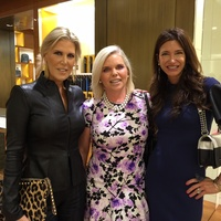 Vogue, Louis Vuitton lunch, 9/26 Courtney Hobson, Valerie Fuller, Melissa Mithoff