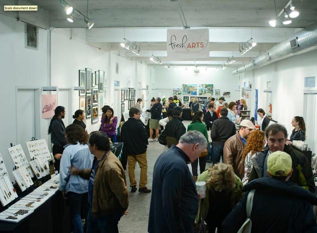 Fresh Arts Winter Holiday Art Market nov 2014