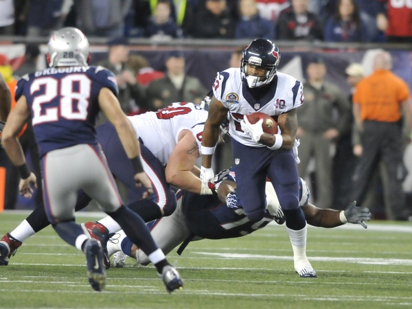 Arian Foster Patriots run