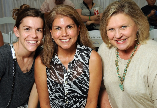 News, Shelby, MD Anderson Children's Fashions, August, 2014, Samantha Arango, Becky Kitchell and Kathy Minter