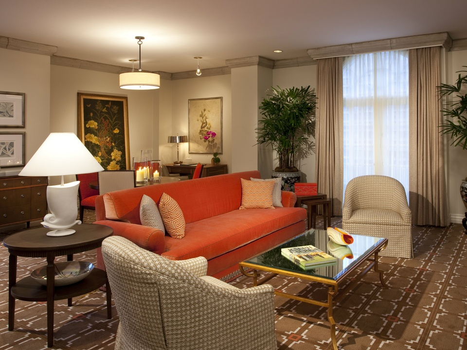 terrace suite, mansion on turtle creek, dallas suites