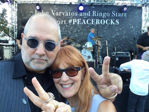 News, Shelby, Varvatos event in Hollywood, Bob Cavnar, Gracie Cavnar, Sept. 2014
