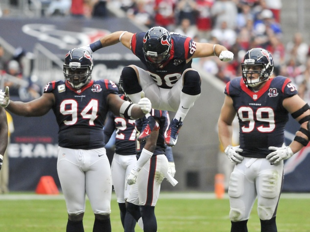 Texans Connor Barwin jumping
