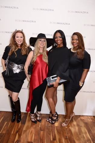 2 Cindi Rose, from left, Rachel Suliburk, Shan Batiste and Amber Gardner at Mandy Kao and Nihala Zakaria birthday party October 2014