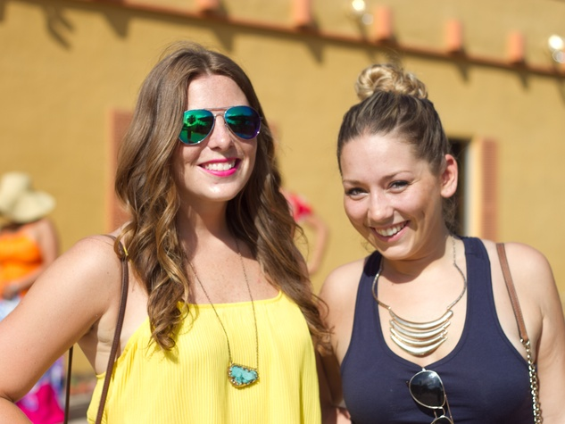 Pachanga Fest 2014 at Fiesta Gardens Hatty Ostrowski Hannah Shea