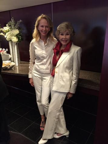 Houston Texans season opener, 9/26 Susan Sarofim, Joanne King Herring