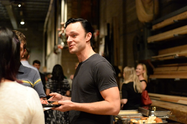 57 Jay Sullivan at the Alley Theatre Young Professional Event - Dracula October 2014