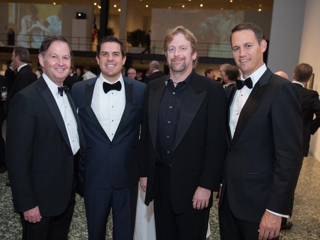 Ralph Eads, John Morton, Chuck Yates, Graydon Oliver at One Great Night in November