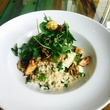 Dining out for Life Harold's Barley Herb Salad