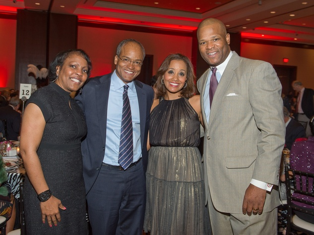 305 Houston Area Women's Center Gala April 2013 Genora Boykins and Dwight Boykins, Arvia Few and Jason Few