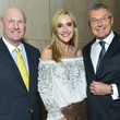 43 Scotty and Jana Arnoldy, left, with Jean-Christophe Babin at the Bulgari exhibition dinner May 2014
