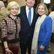 10 Ann and John Bookout, from left, with Ginny Simmons at the Baker Institute reception December 2013