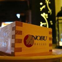 Sake at Nobu Dallas