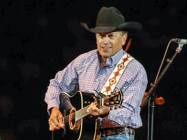 George Strait, RodeoHouston, March 2013