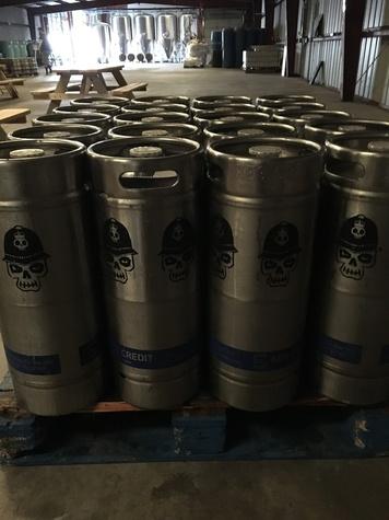 Brash Brewing kegs