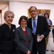 Pat York, Marian Luntz and Michael York at Museum of Fine Arts Houston
