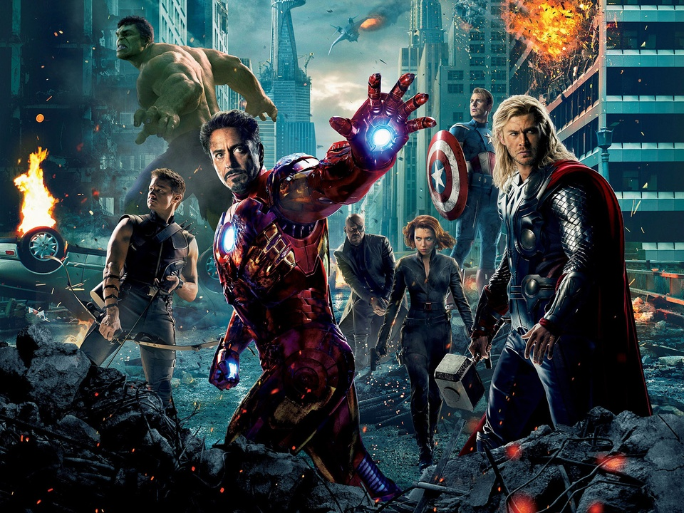 News_The Avengers_2012 movie poster
