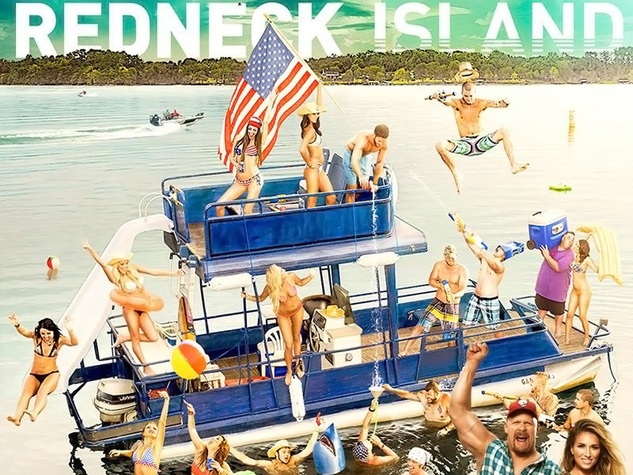Redneck Island promo poster December 2014