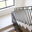 Staircase in Dallas custom home