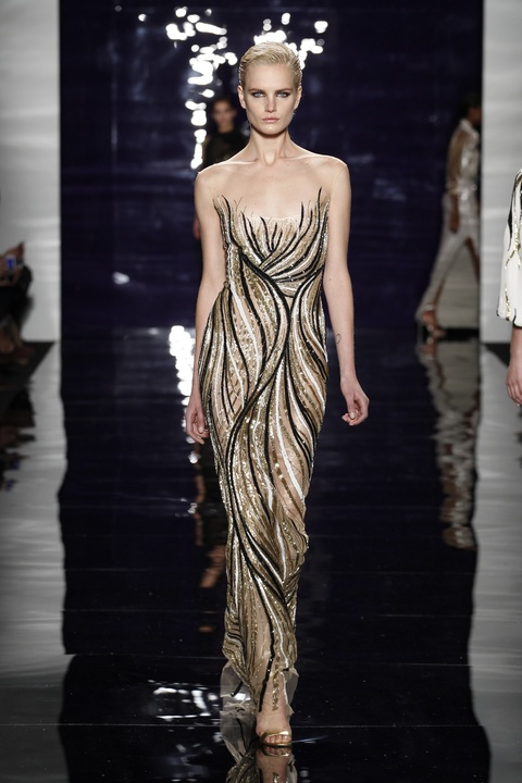 Reem Acra look 25 fall 2014 collection