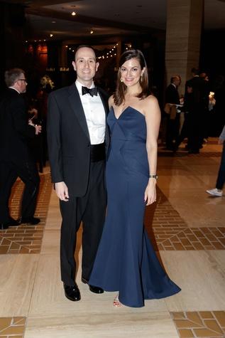 Will Babb, Beth Babb, Crystal Charity Ball 2017