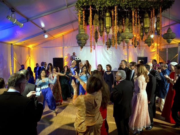 Houston, Tiger Ball, March 2017, dance floor