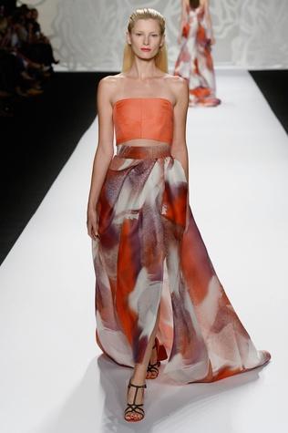 Monique Lhuillier gown spring collection 2014