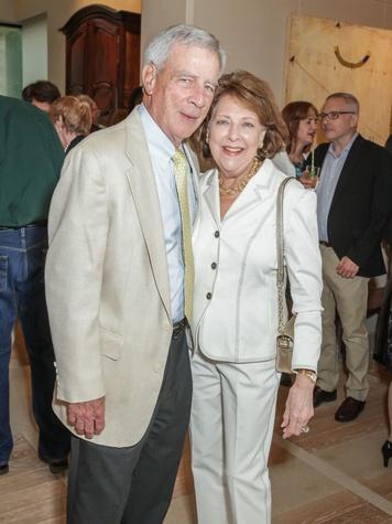 Katy Prairie Conservancy Gala 2015 Bill and Nancy Drushel