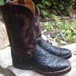 Marene, chef shoes, Randy Evans, cowboy boots, October 2012