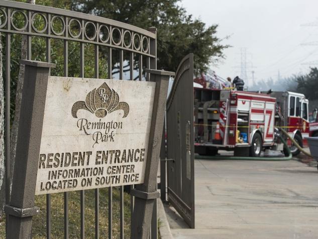 3 Remington Park Apartments fire January 2014